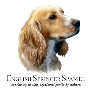 Springer Spaniel T-Shirt - Perfectly Portrayed