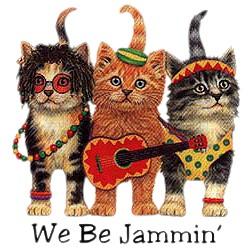 Cat T-Shirt - We Be Jammin