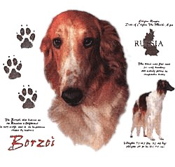 Borzoi T-Shirt - History Collection
