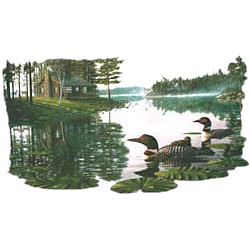 Loon T-Shirt - On The Lake