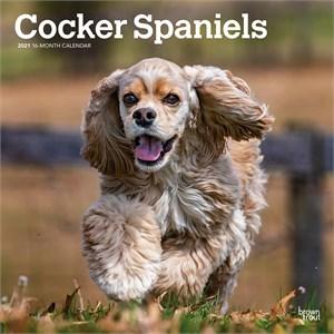Cocker Spaniels Calendar 2016