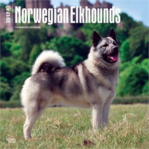 Norwegian Elkhounds Calendar 2015