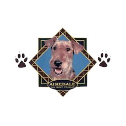 Airedale Terrier T-Shirt - Diamond Collection