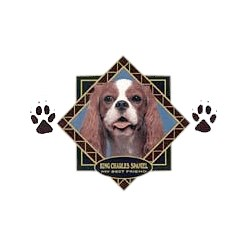 Cavalier King Charles Spaniel T-Shirt - Diamond Collection