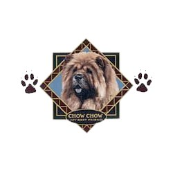 Chow Chow T-Shirt - Diamond Collection