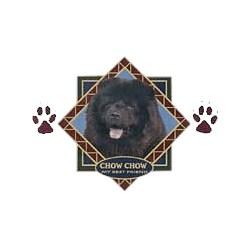 Black Chow Chow T-Shirt - Diamond Collection