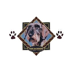 Wirehair Dachshund T-Shirt - Diamond Collection