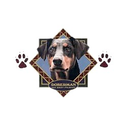 Doberman Pinscher T-Shirt - Diamond Collection Uncropped