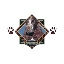 English Cocker Spaniel T-Shirt - Diamond Collection