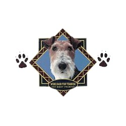 Wire Fox Terrier T-Shirt - Diamond Collection