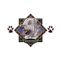 Irish Wolfhound T-Shirt - Diamond Collection