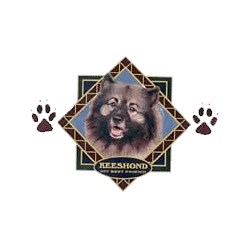Keeshond T-Shirt - Diamond Collection
