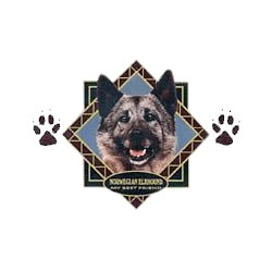Norwegian Elkhound T-Shirt - Diamond Collection
