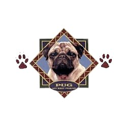 Pug T-Shirt - Diamond Collection