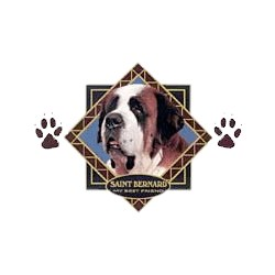 Saint Bernard T-Shirt - Diamond Collection