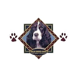 Springer Spaniel T-Shirt - Diamond Collection