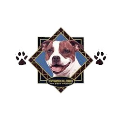 Staffordshire Bull Terrier T-Shirt - Diamond Collection