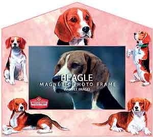 Beagle Decorative Picture Frame