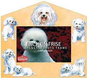 Bichon Frise Decorative Picture Frame