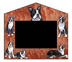 Boston Terrier Decorative Picture Frame