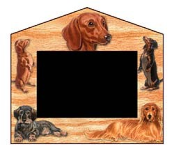 Dachshund Decorative Picture Frame