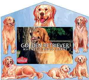 Golden Retriever Decorative Picture Frame