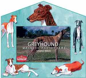 Greyhound Decorative Picture Frame