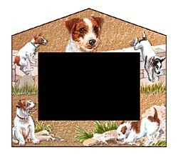 Jack Russell Terrier Decorative Picture Frame