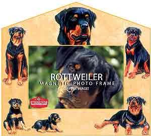 Rottweiler Decorative Picture Frame