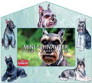 Schnauzer Decorative Picture Frame
