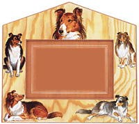 Shetland Sheepdog Decorative Picture Frame