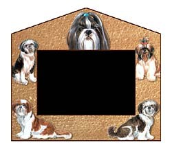 Shih Tzu Decorative Picture Frame