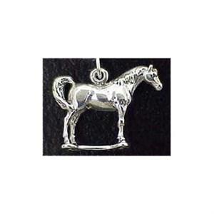 Arabian Horse Sterling Silver Charm