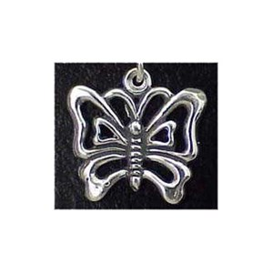 Butterfly Sterling Silver Charm