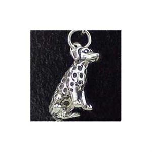 Dalmatian Sterling Silver Charm