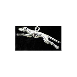Greyhound Sterling Silver Charm