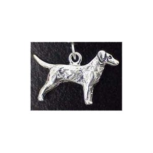 Labrador Sterling Silver Charm