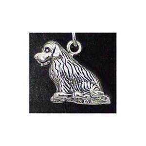 Newfoundland Sterling Silver Charm