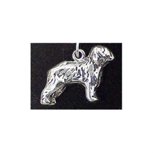 Old English Sheepdog Sterling Silver Charm