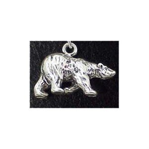 Polar Bear Sterling Silver Charm