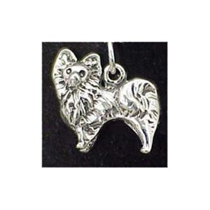 Pomeranian Sterling Silver Charm