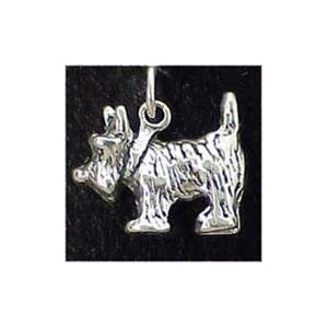 West Highland Terrier Sterling Silver Charm