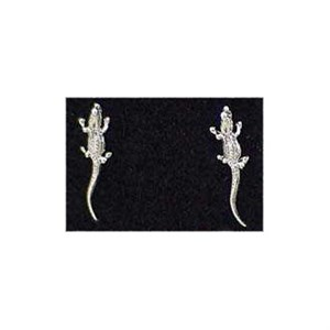 Alligator Earrings