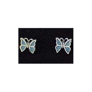 Butterfly Earrings Stud