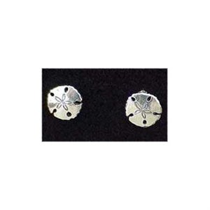 Sand Dollar Earrings Stud