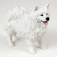 American Eskimo Dog Figurine