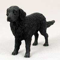 Flat-Coated Retriever Figurine