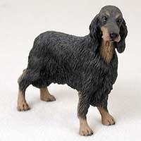 Gordon Setter Figurine