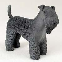 Kerry Blue Terrier Figurine