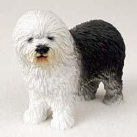 Old English Sheepdog Figurine